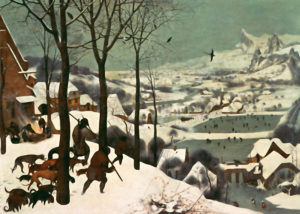 Hunters-in-the-Snow